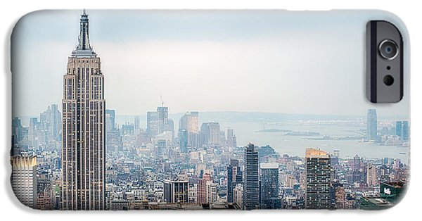 City Scape iPhone Cases - Stunning Empire IV iPhone Case by Ray Warren