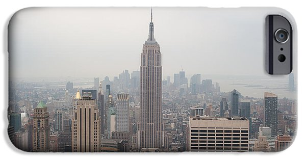 Empire State iPhone Cases - Stunning Empire V iPhone Case by Ray Warren