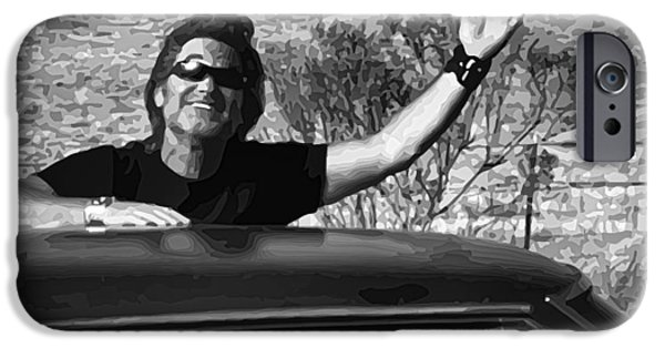 Death Proof iPhone Cases - Stuntman Mike - Death Proof iPhone Case by Gordon Dean II