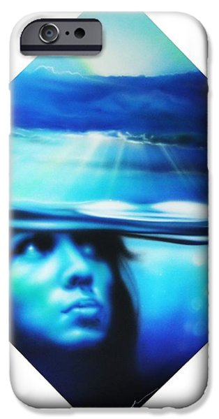 'Submersion' iPhone Case by Christian Chapman Art