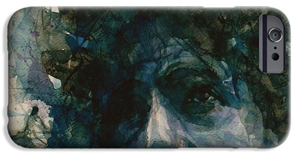 Lips iPhone Cases - Subterranean Homesick Blues  iPhone Case by Paul Lovering