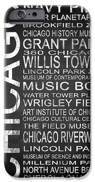 Recently Sold -  - Wrigley iPhone Cases - Subway Chicago 1 iPhone Case by Melissa Smith