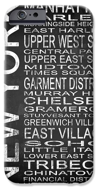 East Village iPhone Cases - Subway New York 2 iPhone Case by Melissa Smith