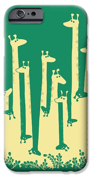 Child Digital iPhone Cases - Such a great height iPhone Case by Budi Kwan