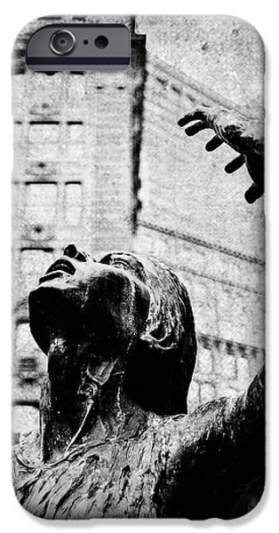 Famine iPhone Cases - Suffering in the New World iPhone Case by Scott Pellegrin