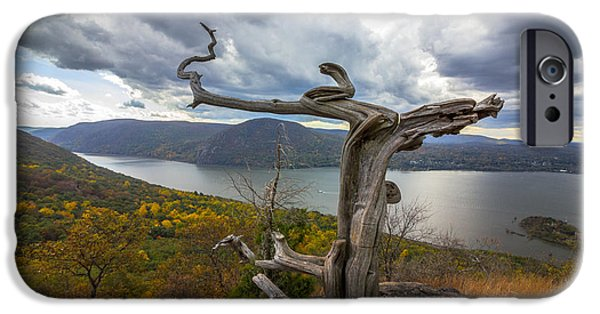 Hudson River iPhone Cases - Sugarloaf Mountain iPhone Case by Antonio Rivera