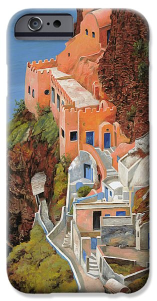 Best Sellers -  - White House iPhone Cases - sul mare Greco iPhone Case by Guido Borelli