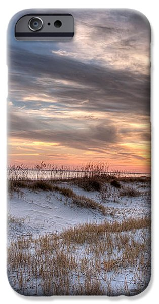 Sullivan' Island at Dusk iPhone Case by Walt  Baker