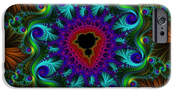 Pleasure Digital Art iPhone Cases - Sultans Pleasure iPhone Case by Mary Machare