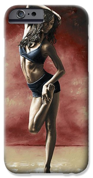 Slim iPhone Cases - Sultry Dancer iPhone Case by Richard Young