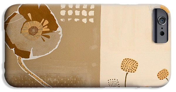 Brown Mixed Media iPhone Cases - Summer 2014 - c09a iPhone Case by Variance Collections