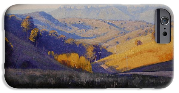 Rural iPhone Cases - Summer Afternoon iPhone Case by Graham Gercken