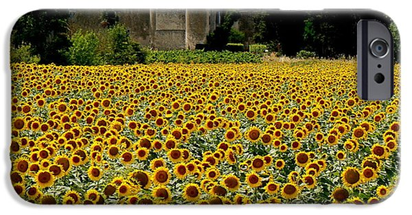 Cathar Country iPhone Cases - Summer Bliss iPhone Case by France  Art