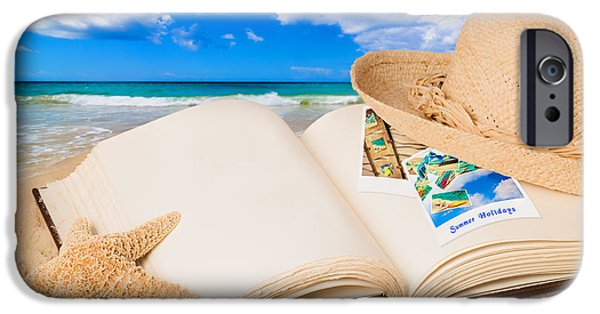 Straw iPhone Cases - Summer Book iPhone Case by Amanda And Christopher Elwell