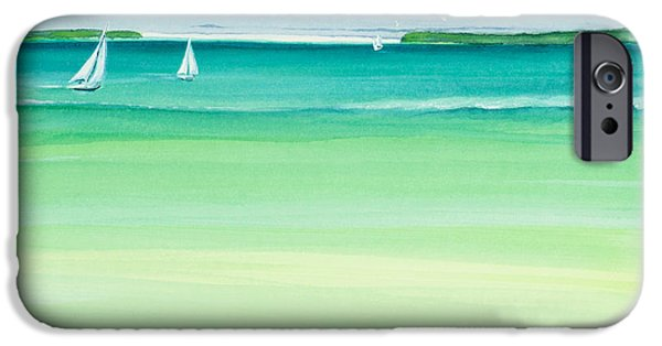 Bayside iPhone Cases - Summer Breeze iPhone Case by Michelle Wiarda