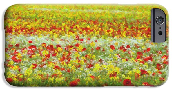 Rape iPhone Cases - Summer Breeze iPhone Case by Tim Gainey
