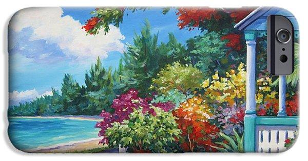Bermudas iPhone Cases - Summer Colors iPhone Case by John Clark