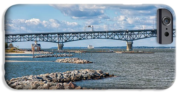 Yorktown Virginia iPhone Cases - Summer Day at Yorktown iPhone Case by John Bailey
