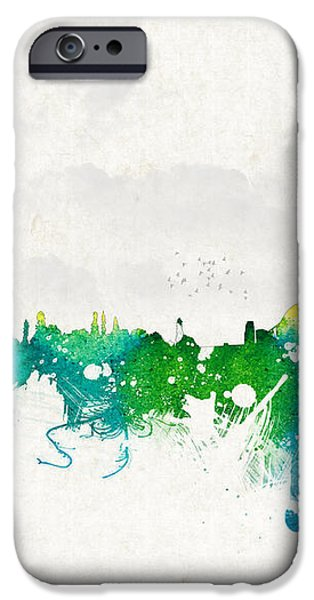 Summer day in Sydney Australia iPhone Case by Aged Pixel