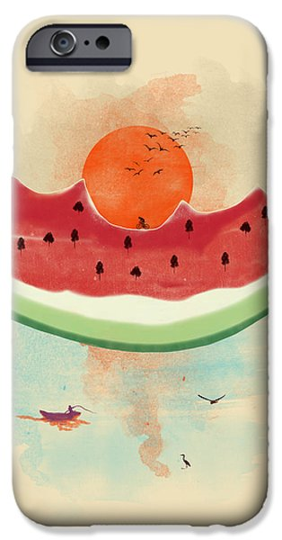Watermelon iPhone Cases - Summer delight iPhone Case by Neelanjana  Bandyopadhyay