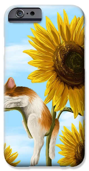 Ipad iPhone Cases - Summer dream iPhone Case by Veronica Minozzi