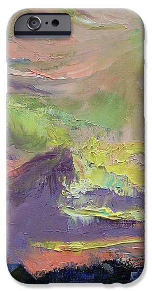 Summer Evening iPhone Case by Michael Creese