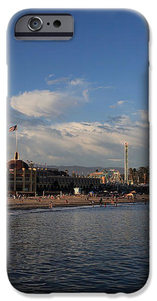Summer Evenings in Santa Cruz iPhone Case by Laurie Search