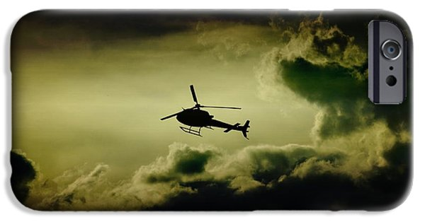 Police Art iPhone Cases - Summer Flying iPhone Case by Paul Job