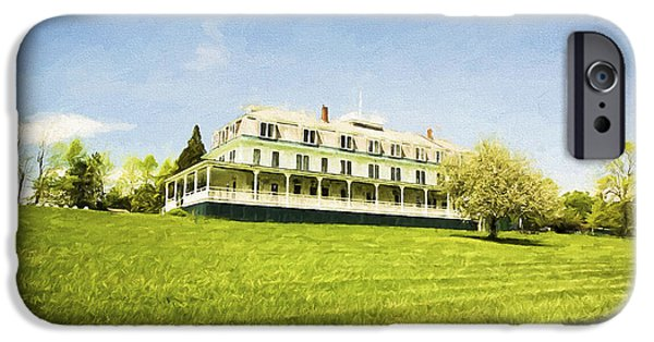 The White House Photographs iPhone Cases - Summer House iPhone Case by Jan Tyler