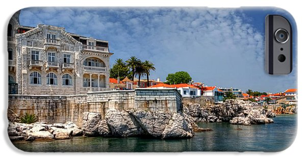 Village iPhone Cases - Summer in Cascais iPhone Case by Carol Japp