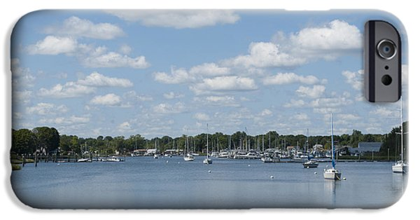 Cloudscape Photographs iPhone Cases - Summer in New England iPhone Case by Juli Scalzi