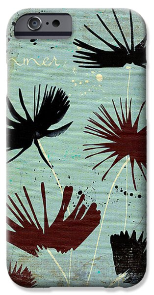 Texture Floral iPhone Cases - Summer Joy - 91bb iPhone Case by Variance Collections