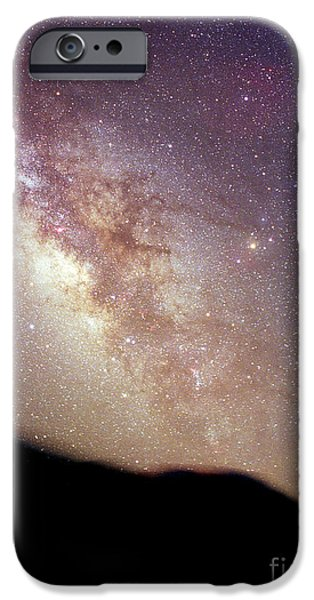 Constellations iPhone Cases - Summer Milky Way iPhone Case by Chris Cook
