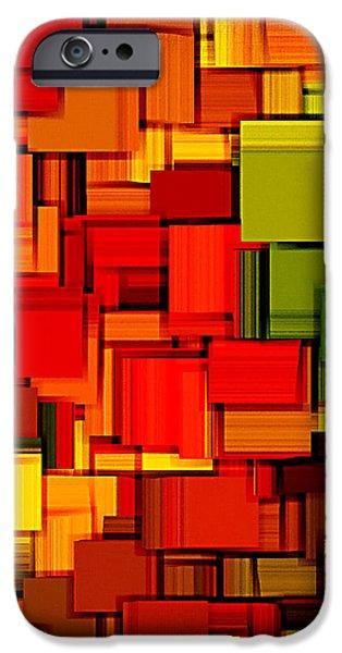 Summer Modern Abstract Art XVIII iPhone Case by Lourry Legarde