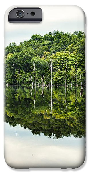 Summer Morning on Monksville Reservoir 2 iPhone Case by Gary Heller