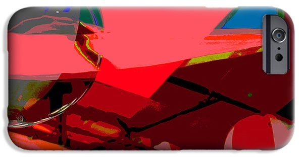 Juvenile Wall Decor iPhone Cases - Summer Pop Art Abstract iPhone Case by ArtyZen Studios - ArtyZen Home