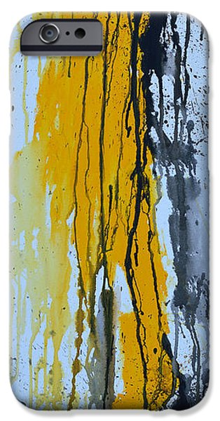 Summer Rein- Abstract iPhone Case by Ismeta Gruenwald