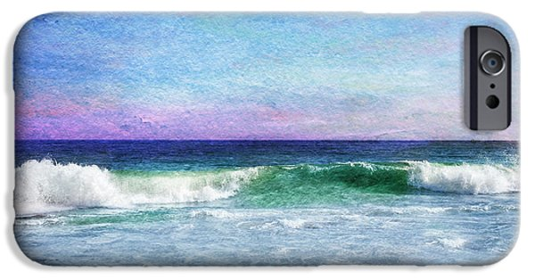 York Beach iPhone Cases - Summer Salt iPhone Case by Laura Fasulo