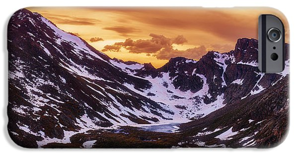 21st iPhone Cases - Summer Solstice Sunset iPhone Case by Darren  White