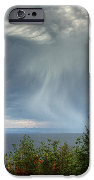 Summer Squall iPhone Case by Randy Hall