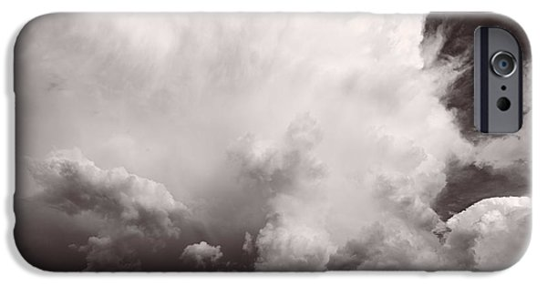 Storm iPhone Cases - Summer Storm iPhone Case by Steve Gadomski