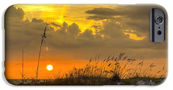 Gulf Shores iPhone Cases - Summer Sun iPhone Case by Marvin Spates