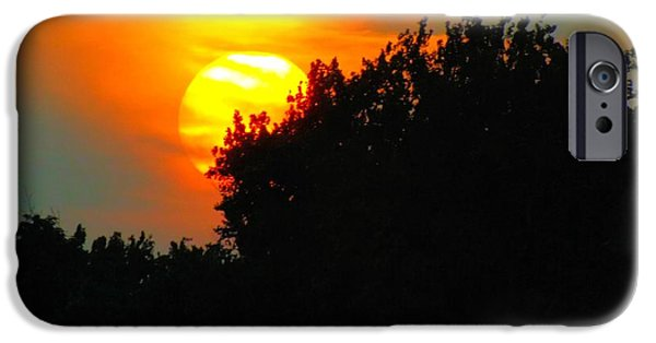 Business Photographs iPhone Cases - Summer Sunset #3 iPhone Case by Robyn King