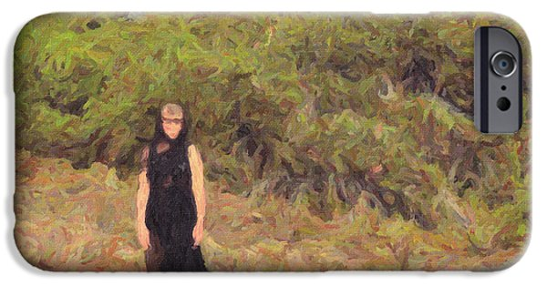 Pissarro iPhone Cases - Summer Tale iPhone Case by Taylan Soyturk