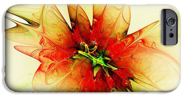 Flame iPhone Cases - Summer Thoughts iPhone Case by Anastasiya Malakhova
