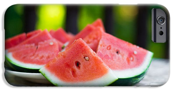 Watermelon iPhone Cases - Summer Treat iPhone Case by Shelby  Young