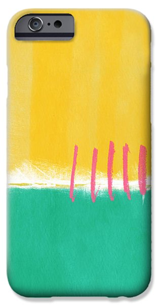 Large iPhone Cases - Summer Walk iPhone Case by Linda Woods