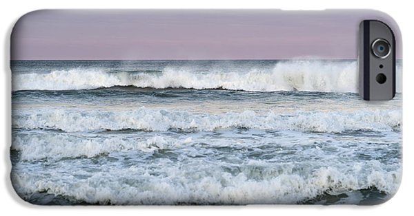 Seaside Heights iPhone Cases - Summer Waves Seaside New Jersey iPhone Case by Terry DeLuco