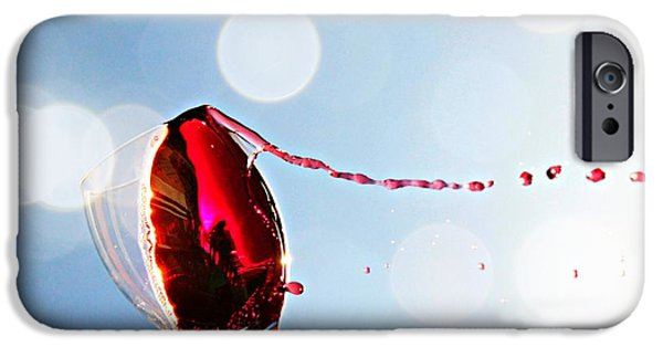 Malbec iPhone Cases - Summertime iPhone Case by Clare Bevan