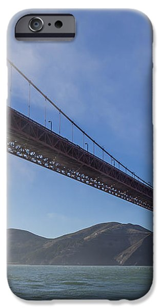 Sun Beams through the Golden Gate iPhone Case by Scott Campbell